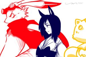 Summer Wars OCT2011 by Mikkeh23