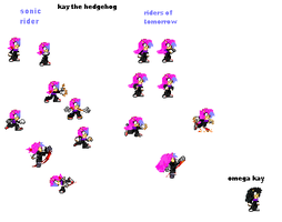 Kay sprite sheet update by 100hypersonic