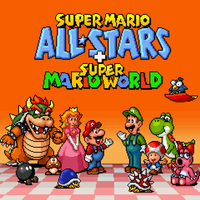 Super Mario All-Stars + Super Mario World by BLZofOZZ