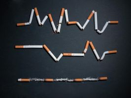 Smoking is a slow death by Ali-Alnemer