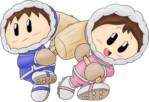 Ice Climbers climb onto battle by JuacoProductionsArts