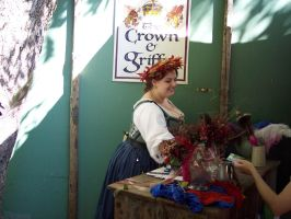 Middle class or upper lower class Me at Faire. by llynnyia