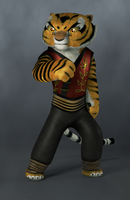 FanArt Tigress Kung Fu panda by bosman697