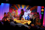 Me as Claude (riding submarine) in Musical Hair by hyperjet
