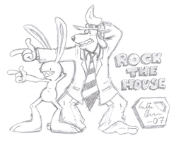 Rock the House? D8 by StupidLittleCreature