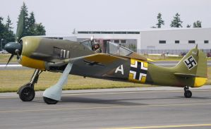Focke Wulf Fw-190A-5 Taxi by shelbs2