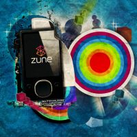 Zune Player Experiment by AlexFrances