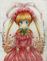 Rozen Maiden - Shinku by shinyskymin