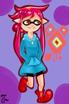 Mother X Splatoon by tuberousvegetable