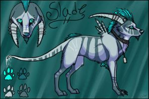 Slade (my new sexy character) by Vexlovely