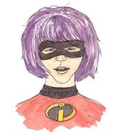 Incredible Hit Girl by mattcantdraw