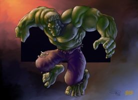 Color of DenisM79 Hulk by Grimbro