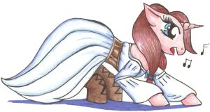 Merigold the Pony by fireprincess38fox