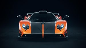 Pagani Zonda Cinque Orange by NasG85