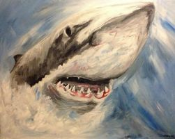 Toothy by carlyscanvas
