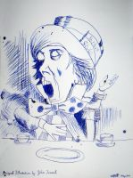 john tenniel mad hatter by hermitsrme