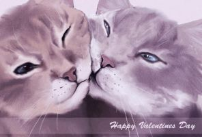 Cats love by Afina-Energy