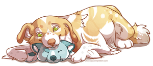 Cuddle Time! by chirpeax