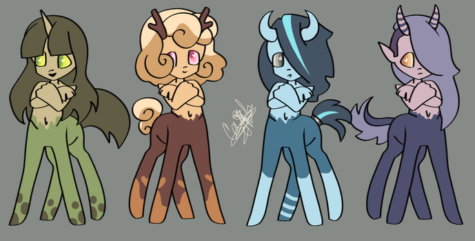 (CLOSED) Cheap Centaur Adopts by DamonTheDeer