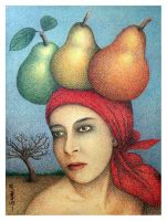 Lucid Dream with Pears by Jose-Garel-Alvoeiro