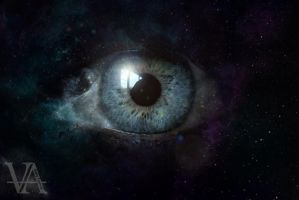 Eye of the universe by KellyFrancis