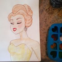 Belle by ColourfulPushpins