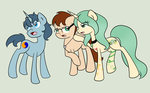 Not enough room for the three of us by Fairiegirl101