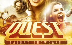 Quest Church Concert Flyer Template by loswl
