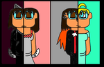 Lias and Lisa and Lisxa and Ping Ling 6463 by RainbowPonyFairy