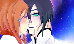 Day 5 - UlquiHime OTP Challenge - Kissing(COLORED) by keitoz