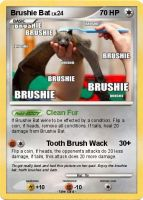 Poke card- Brushie bat 01 by ZaLDoS
