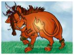 Red XIII for Midgez by PianoxLullaby