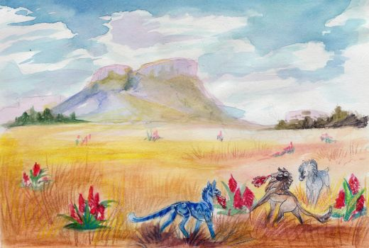 Gathering the Aloes by Amadoodles