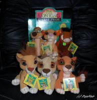 .:TLK 2 -Plush Outlanders set- Complete:. by Pega-Flair