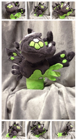Zygarde Plush by Glacdeas