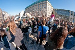 Berlin pillow fight 2011 - 30 by Egg-Salad