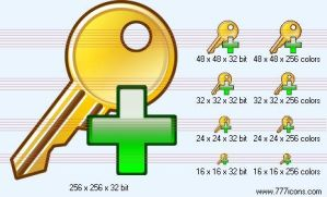 Add key Icon by security-icon-set