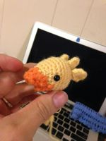 Crochet Chocobo by TiredOrangeCat