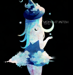 midnight witch + (speedpaint) by Hoshi-Pan