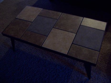 Tile Coffee Table by GGReactor
