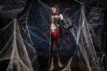 Elise, the Spider Queen by britthebadger
