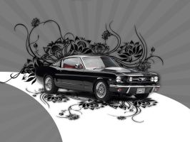 Ford Mustang by 2-0-1-9