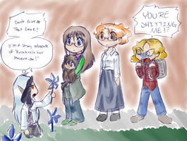 PinWheels for Prevention by KichiMiangra