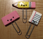 School Supply Bookmarks by HideTheDecay