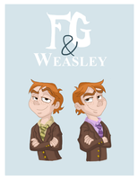 weasley and weasley by TheBluBerry