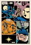 Lady Spectra and Sparky: Symbiotic Man pg. 12 by JKCarrier