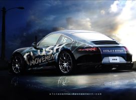 Porsche 911 Flushmovement Race Team by ecolle