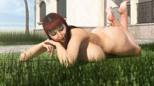 Tanning by RedFireD0g