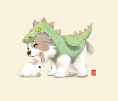 Dragon Puppy by Sheharzad-Arshad