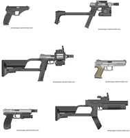Just some 0.6 handguns III by Robbe25